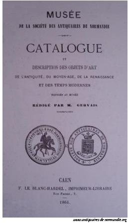 Catalogue de Gervais (1864)